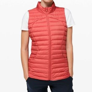 Lululemon Pack It Down Vest Rustic Coral